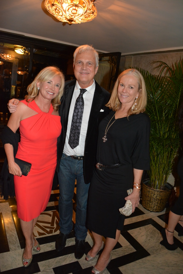 Sharon Bush, Tom Knapp, Anne Hearst  attend The National Arts Club Presents 'Charles James: Beneath The Dress  (Photo by Rose Billings)