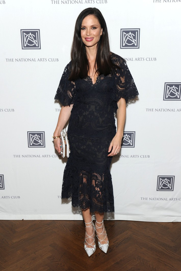 Georgina Chapman attends The National Arts Club Presents 'Charles James: Beneath The Dress (Photo by OwenHoffmann)