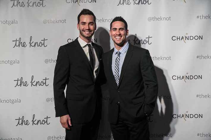 Chris Siegfried and Josh Murray attend the 5th Anniversary Of The Knot Gala