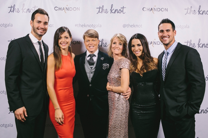 Desiree Hartsock, Chris Siegfried, Terry Hall, The Knot co-founder Carley Roney, Andi Dorfman and Josh Murray  attend the 5th Anniversary Of The Knot Gala