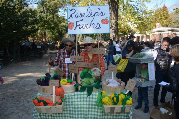 Farmers Market at 2014 Tompkins Square Park Halloween Dog Parade