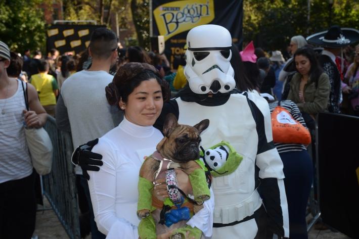 Star Wars at 2014 Tompkins Square Park Halloween Dog Parade