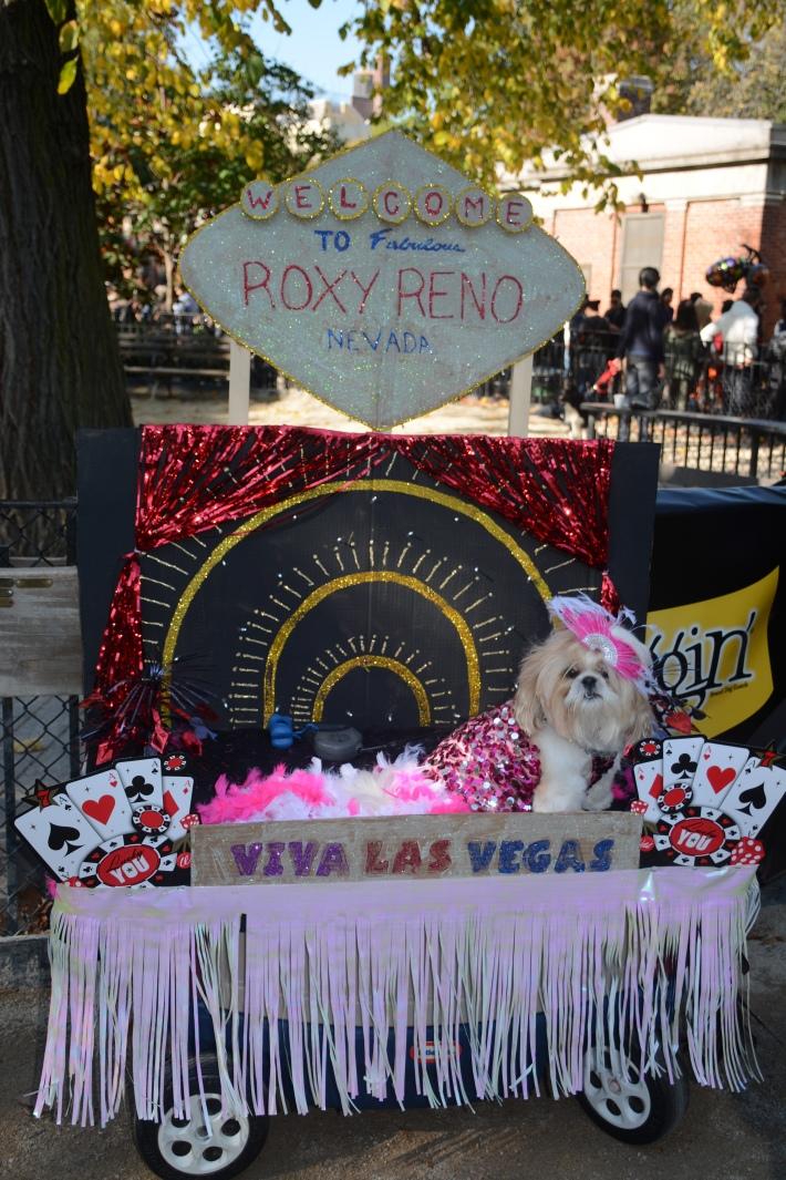 Viva Las Vegas at 2014 Tompkins Square Park Halloween Dog Parade
