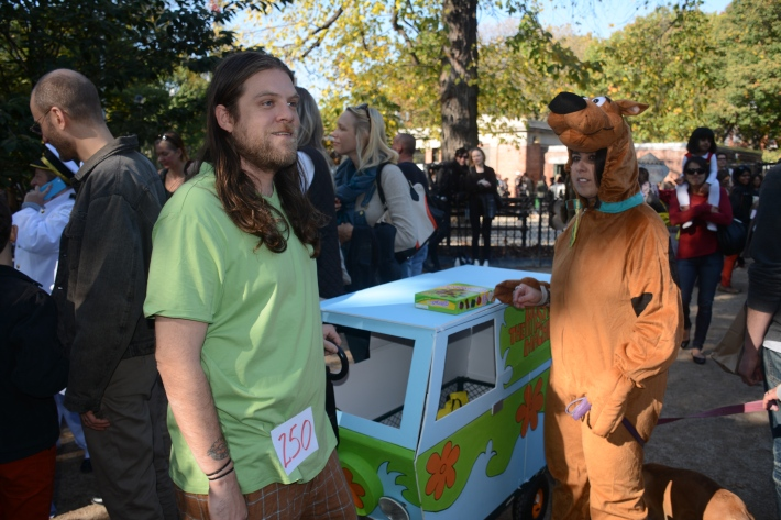 Scooby-Doo at 2014 Tompkins Square Park Halloween Dog Parade