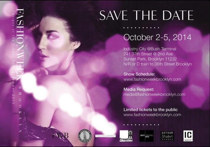 Invite: Fashion Week Brooklyn October 2-6, 2014