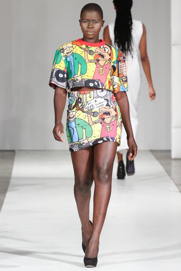 Soka by Karen De-Freitas-Fraser Fashion Week Brooklyn Spring/Summer 2015