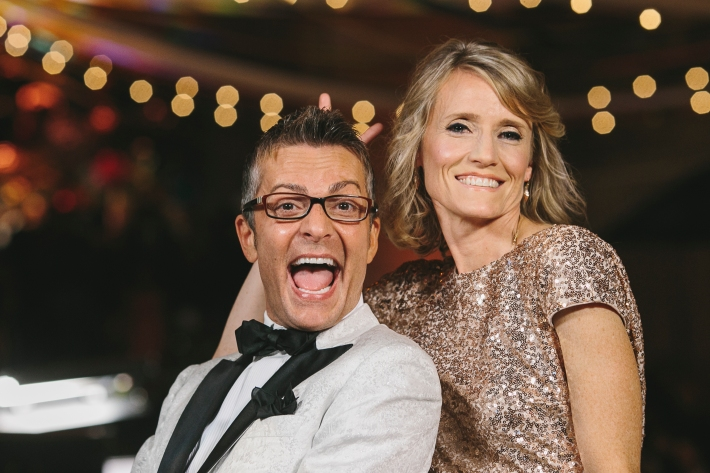 Randy Fenoli and The Knot co-founder Carley Roney attend the 5th Anniversary Of The Knot Gala