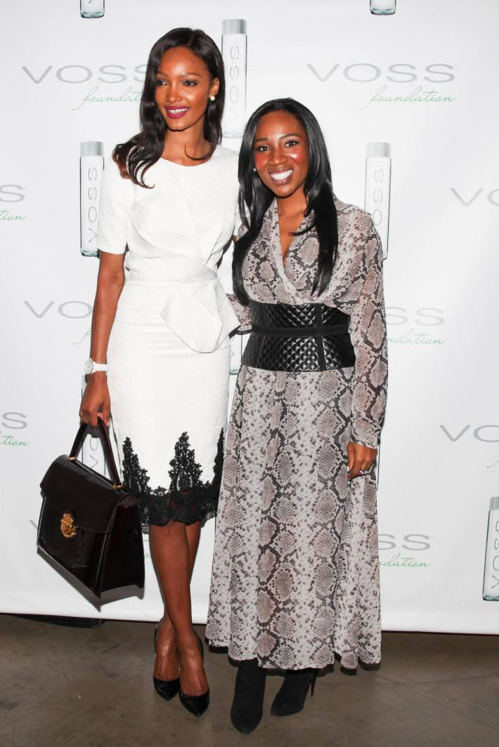 Millen Magese and Eunice Omole attend Voss Foundation's Fifth Annual Women Helping Women New York Luncheon