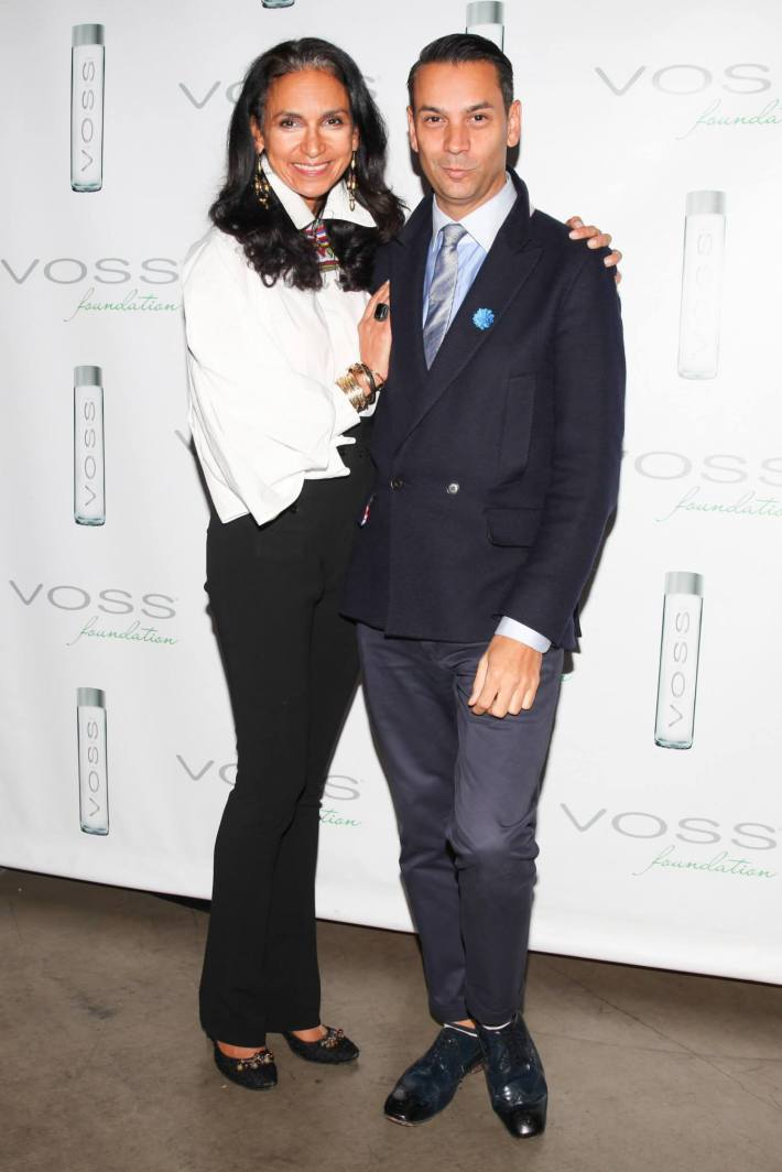 Susan Fales Hill,  James Aguiar attend Voss Foundation's Fifth Annual  Women Helping Women New York Luncheon