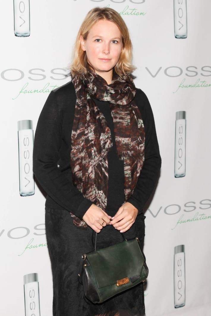 Sophie Elgort attends Voss Foundation's Fifth Annual Women Helping Women New York Luncheon