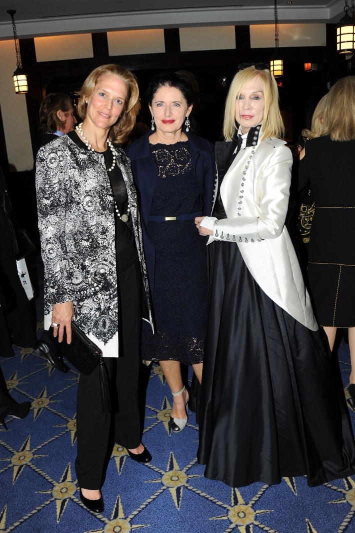"""Louisa Benton, Luisa Beccaria, Maggie Norris attend Book Launch for HRH Princess Michael of Kent's """"Queen of Four Kingdoms"""" (Photo by PaulBruinooge)"""