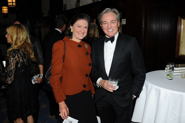 """Mayme Hackett, Geoffrey Bradfield attend Book Launch for HRH Princess Michael of Kent's """"Queen of Four Kingdoms"""" (Photo by PaulBruinooge)"""