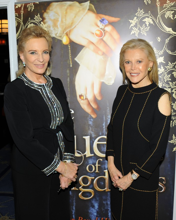 """Princess Michael of Kent, Audrey Gruss attend Book Launch for HRH Princess Michael of Kent's """"Queen of Four Kingdoms"""" (Photo by PaulBruinooge)"""