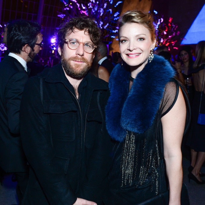 Dustin Yellin, Kristy Caylor attend The 11th Annual Apollo Circle Benefit  (Courtesy of The Metropolitan Museum of Art/BFAnyc.com)