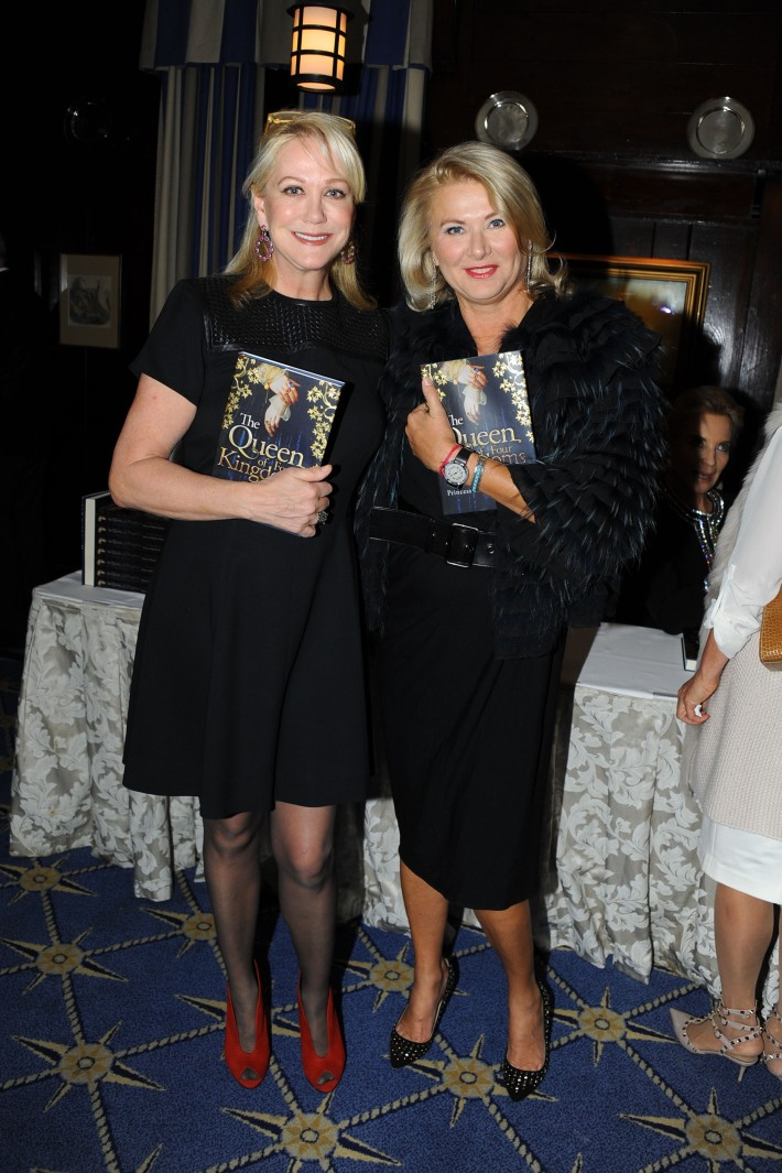 """Nina Griscom, Liliana Cavendish attend Book Launch for HRH Princess Michael of Kent's """"Queen of Four Kingdoms"""" (Photo by PaulBruinooge)"""