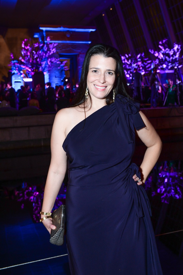 Caroline Cummings Rafferty attends The 11th Annual Apollo Circle Benefit  (Courtesy of The Metropolitan Museum of Art/BFAnyc.com)