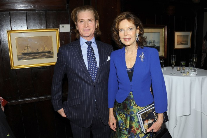 """Eric Javits, Margo Langenberg attend Book Launch for HRH Princess Michael of Kent's """"Queen of Four Kingdoms"""" (Photo by PaulBruinooge)"""