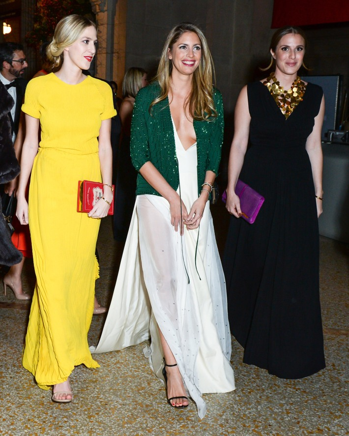 Alexandra Ingruth, Valerie Boster, Andrea Kruger attend The 11th Annual Apollo Circle Benefit  (Courtesy of The Metropolitan Museum of Art/BFAnyc.com)