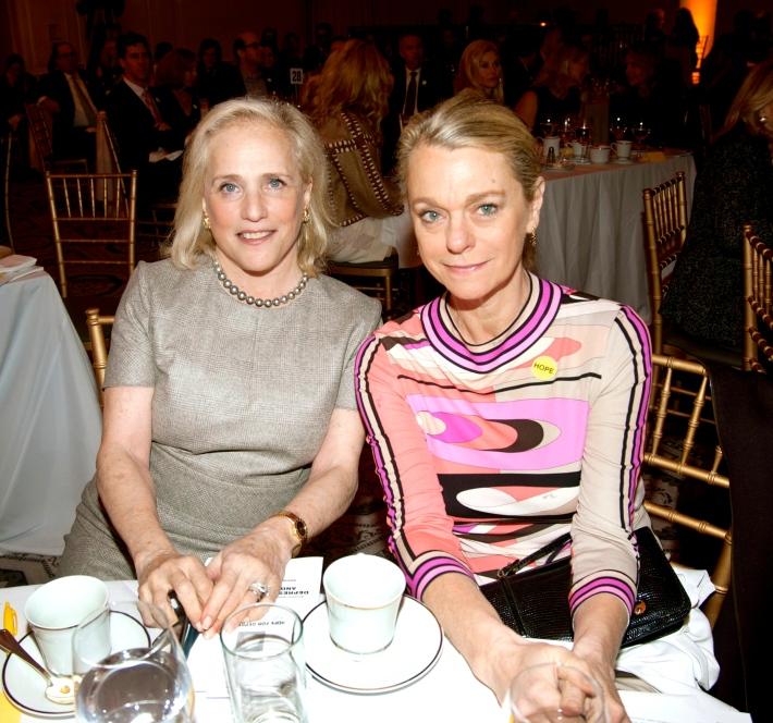 Ann Barish, Debbie Bancroft attend Hope for Depression Research Foundation's Eighth Annual HOPE Luncheon Seminar (Photo By JonathonZiegler)