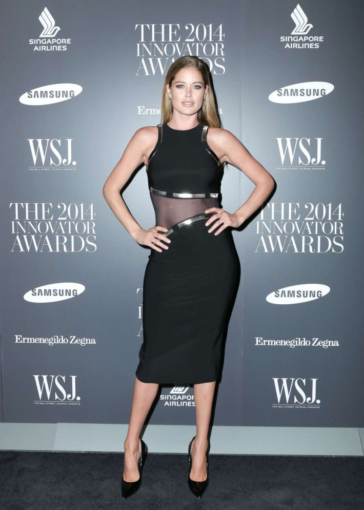 Model Doutzen Kroes attends WSJ. Magazine's 'Innovator Of The Year' Awards at Museum of Modern Art
