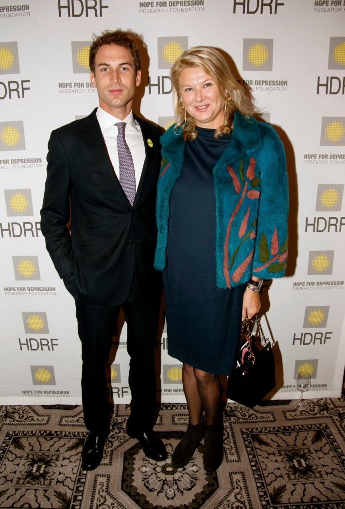Edward Cavendish, Liliana Cavendish attend Hope for Depression Research Foundation's Eighth Annual HOPE Luncheon Seminar (Photo By JonathonZiegler)