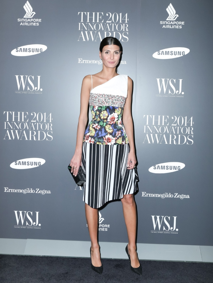 Giovanna Battaglia attends WSJ. Magazine's 'Innovator Of The Year' Awards at Museum of Modern Art