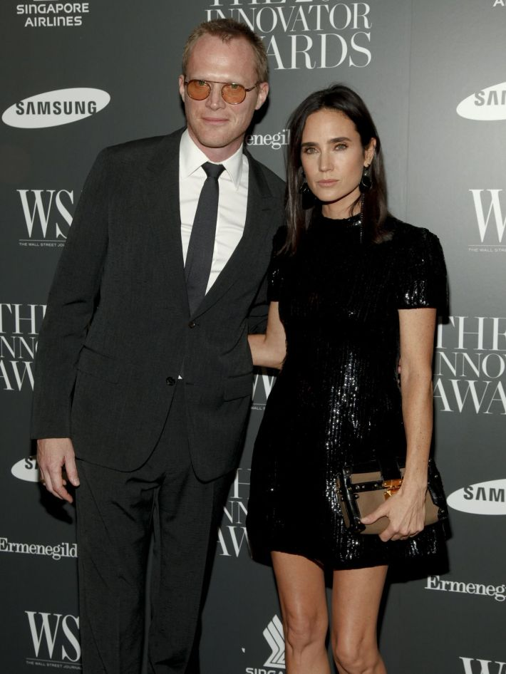 Jennifer Connelly and Paul Bettany attend WSJ. Magazine's 'Innovator Of The Year' Awards at Museum of Modern Art