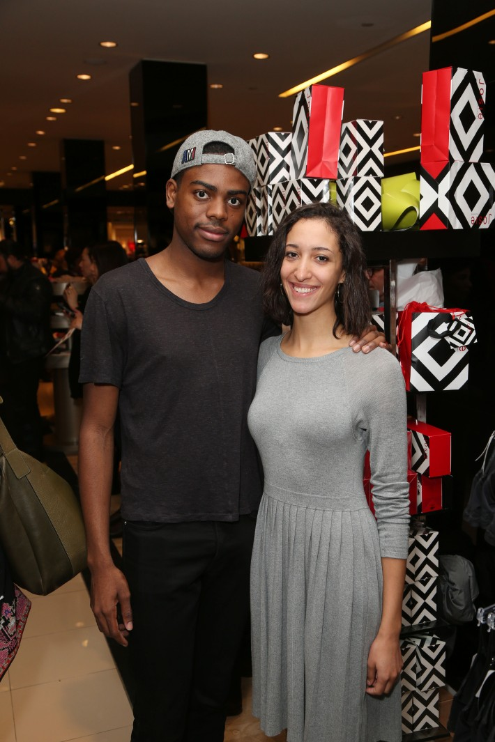 Jihad Harkeem, Amelia Viner attend the new fragrance launch of JOSIE by Josie Natori at Bloomingdale's (Photo by  J.Grassi)