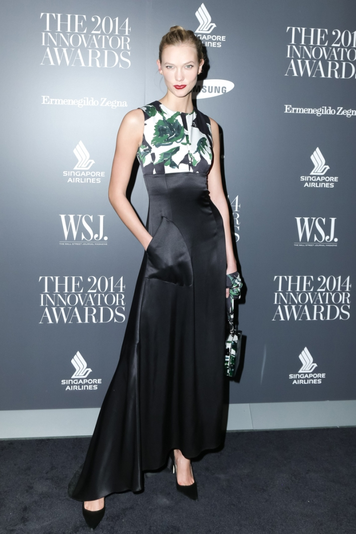 Karlie Kloss attends WSJ. Magazine's 'Innovator Of The Year' Awards at Museum of Modern Art
