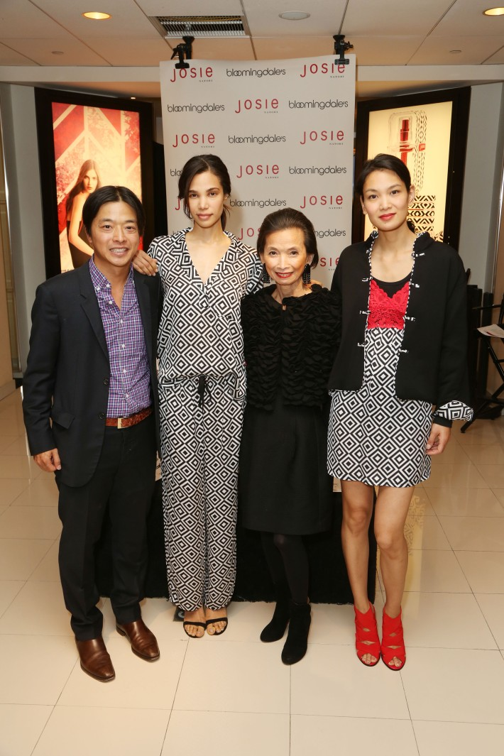 Ken Natori, Josie Natori at the new fragrance launch of JOSIE by Josie Natori at Bloomingdale's (Photo by  J.Grassi)