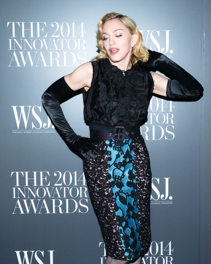 Madonna attends WSJ. Magazine's 'Innovator Of The Year' Awards at Museum of Modern Art