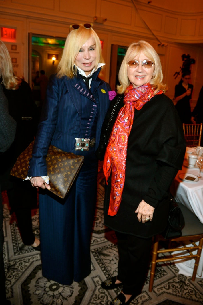 Maggie Norris, and guest attend Hope for Depression Research Foundation's Eighth Annual HOPE Luncheon Seminar (Photo By JonathonZiegler)