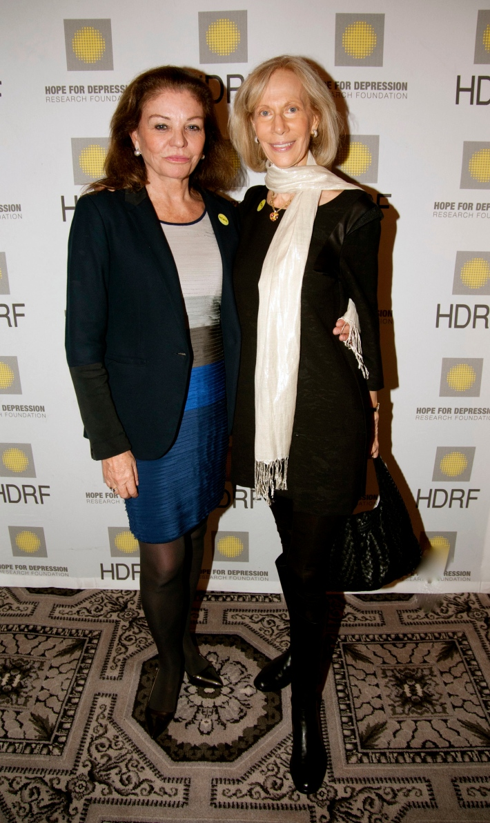Sylvia Martins-Niarchos, Linda Silverman attend Hope for Depression Research Foundation's Eighth Annual HOPE Luncheon Seminar (Photo By JonathonZiegler)