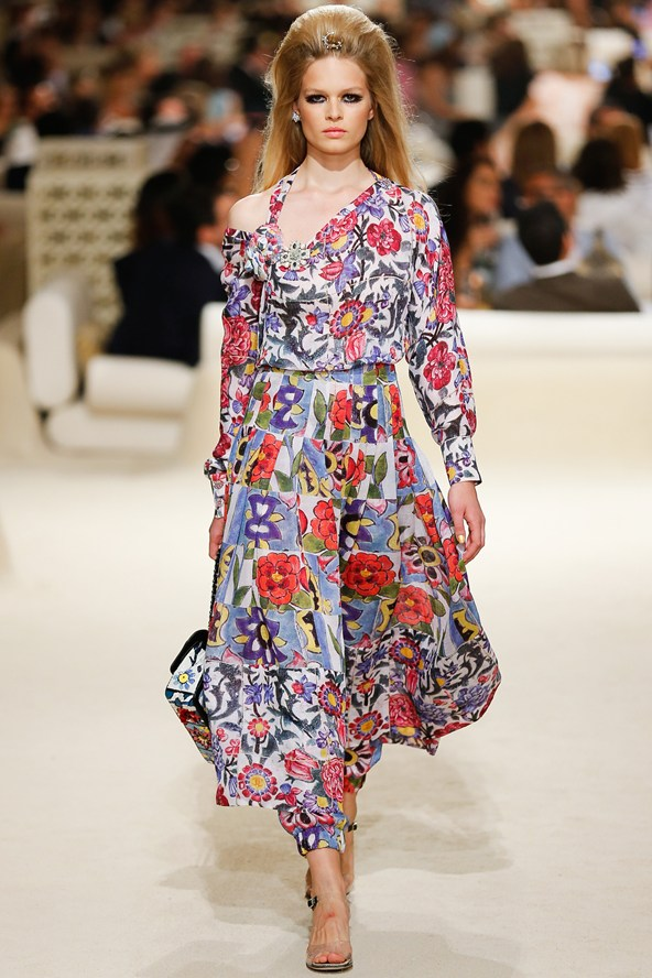 Karl Lagerfeld's Chanel Cruise Show Pre-Spring/Summer 2015