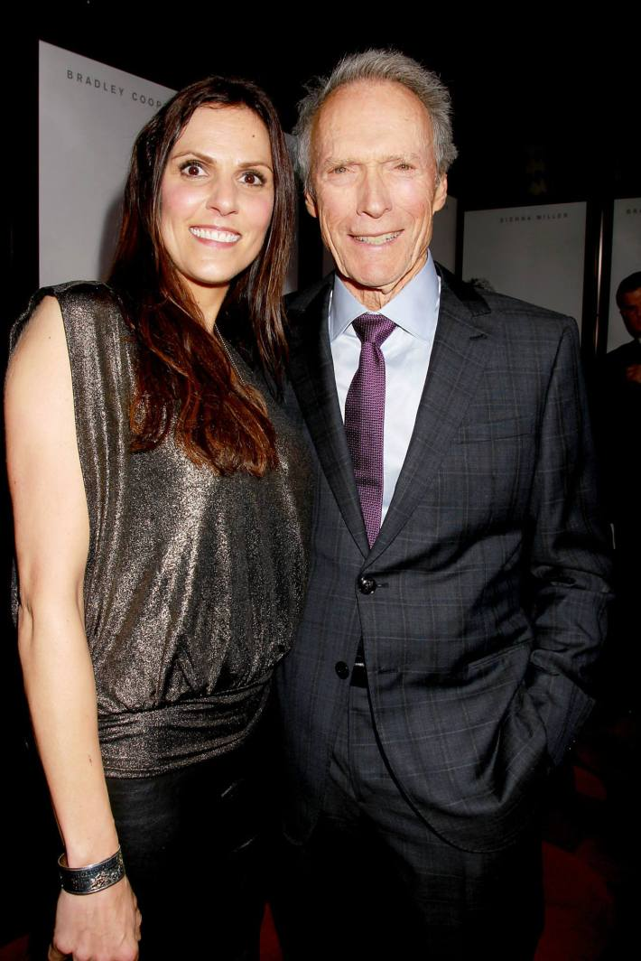 Taya Kyle, Producer and Director, Clint Eastwood attend 'American Sniper' New York Premiere at Frederick P. Rose Hall, Jazz at Lincoln Center
