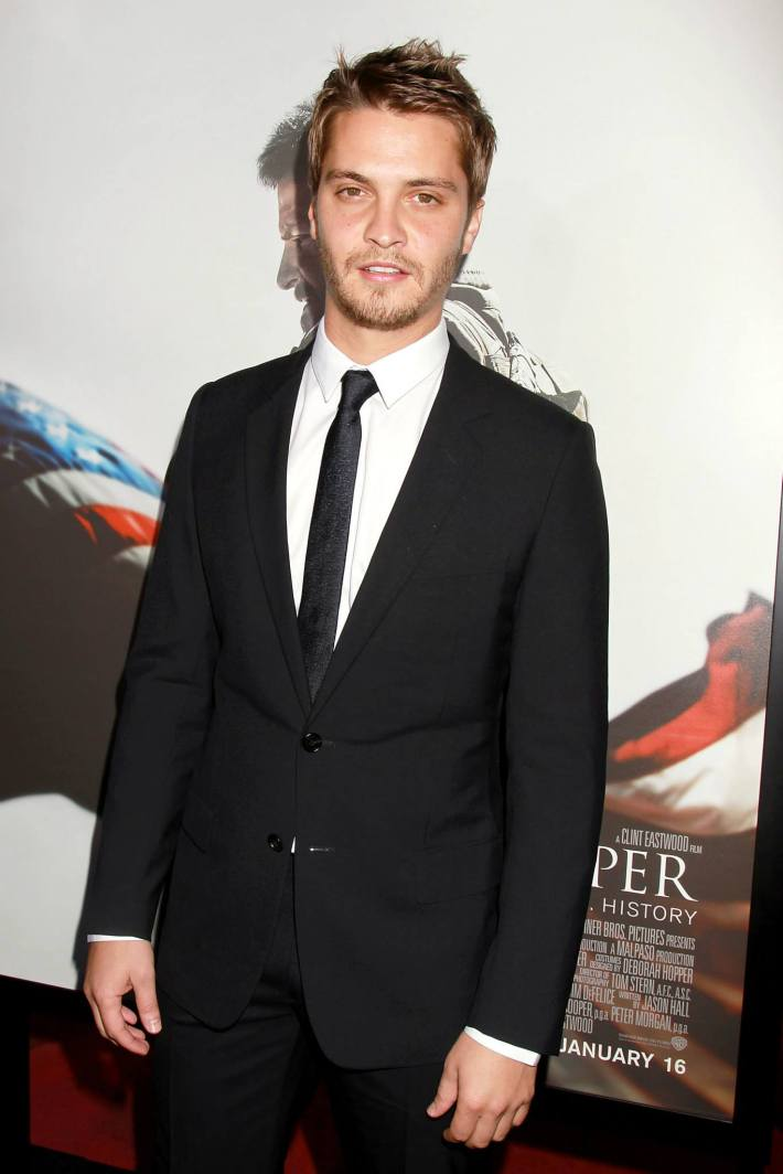 Luke Grimes attends 'American Sniper' New York Premiere at Frederick P. Rose Hall, Jazz at Lincoln Center