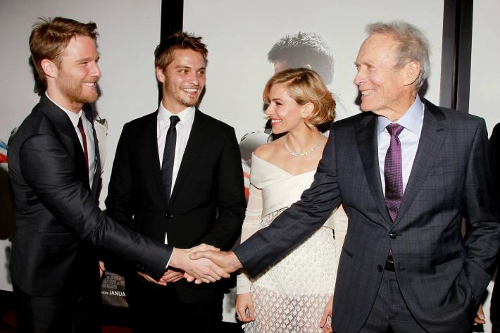 Cast attend 'American Sniper' New York Premiere at Frederick P. Rose Hall, Jazz at Lincoln Center