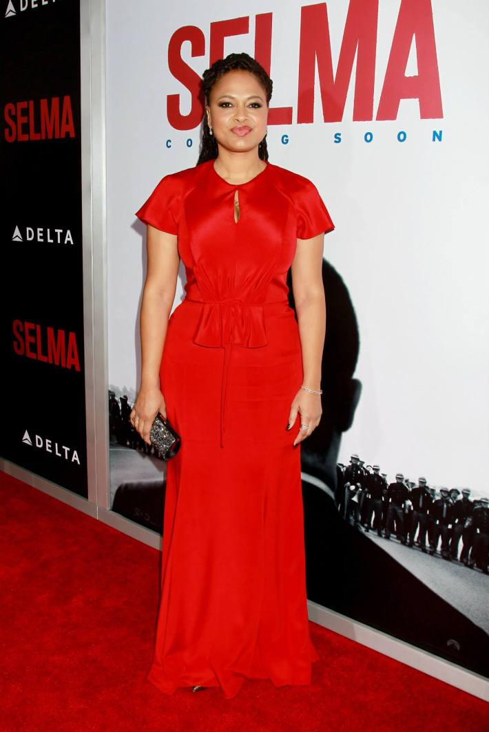 Director/executive producer Ava DuVernay attends the 'Selma' New York Premiere at the Ziegfeld Theater