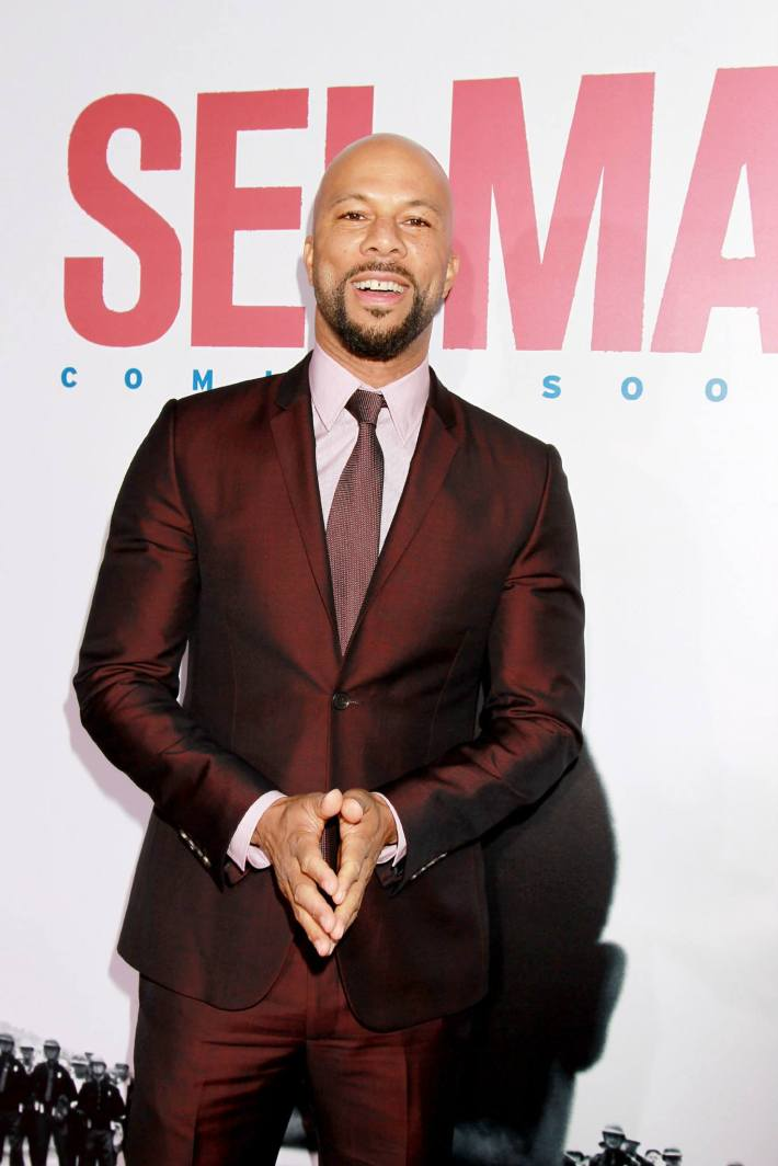 Actor Common attends the 'Selma' New York Premiere at the Ziegfeld Theater