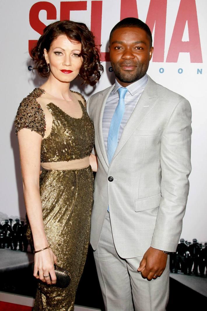 Actor David Oyelowo Jessica Oyelowo attend the 'Selma' New York Premiere at the Ziegfeld Theate