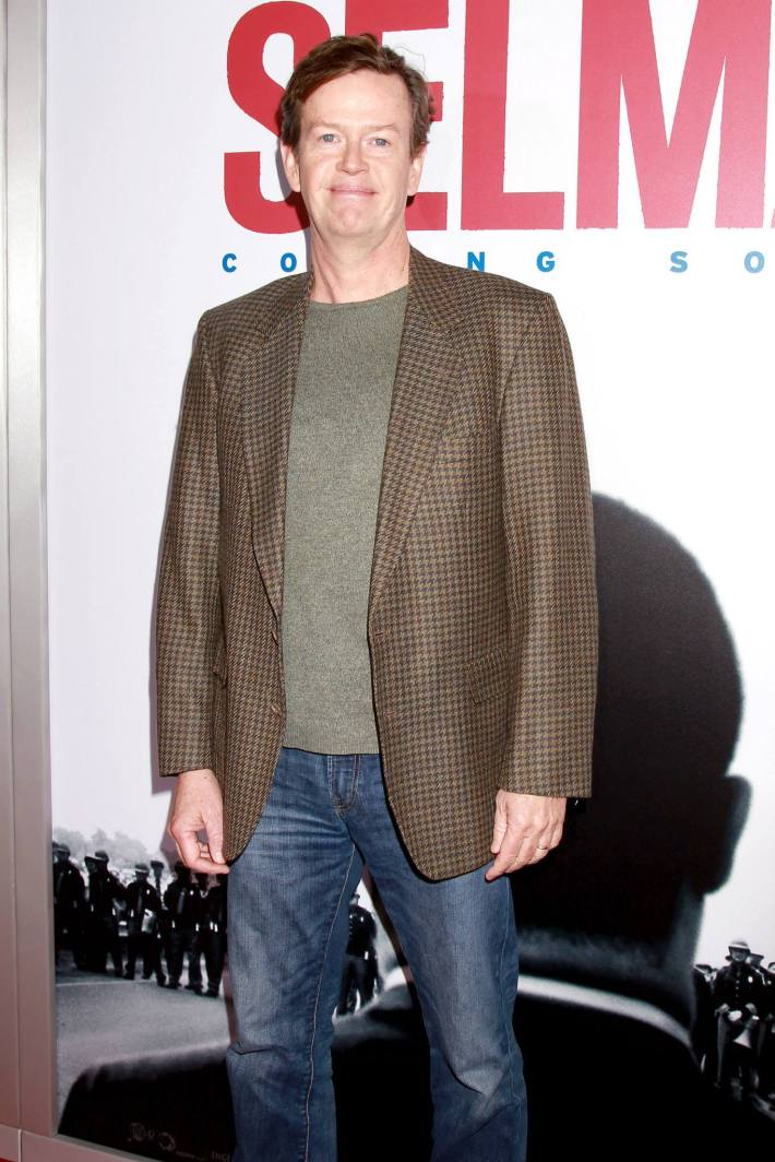 Actor Dylan Baker attends the 'Selma' New York Premiere at the Ziegfeld Theater