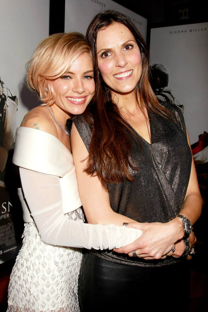 Taya Kyle, Sienna Miller  attend 'American Sniper' New York Premiere at Frederick P. Rose Hall, Jazz at Lincoln Center