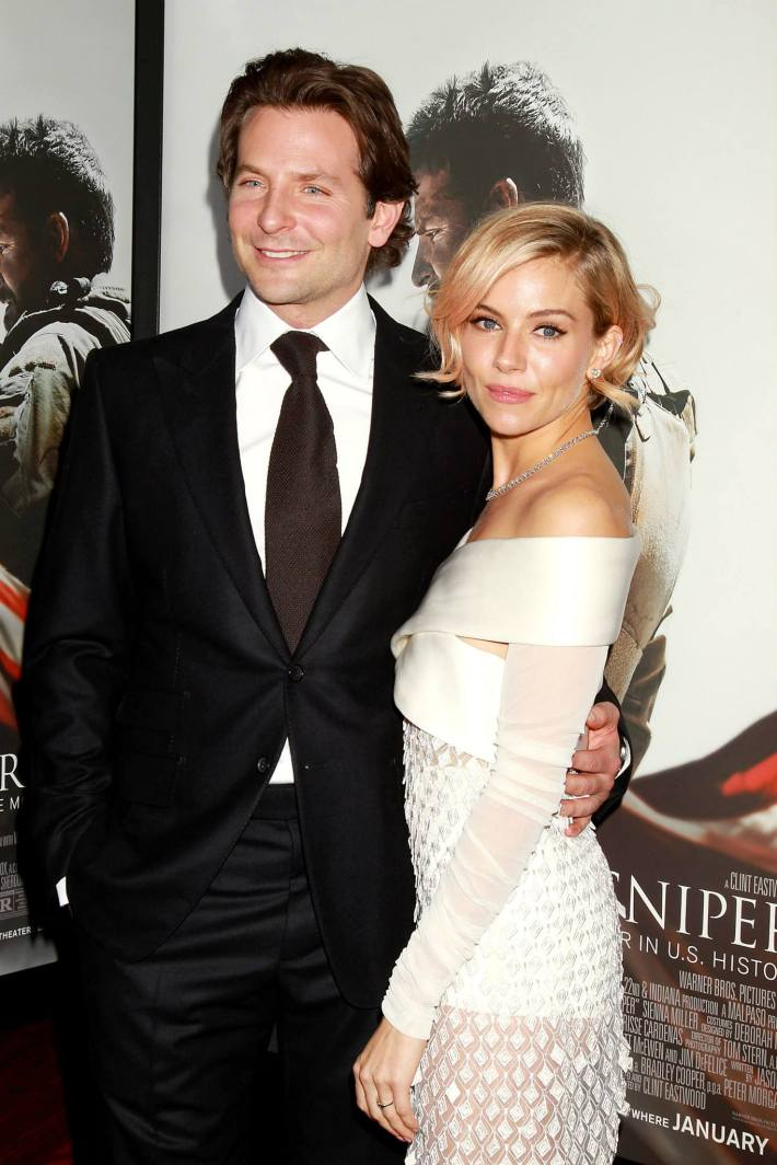 Bradley Cooper and Sienna Miller attend 'American Sniper' New York Premiere at Frederick P. Rose Hall, Jazz at Lincoln Center