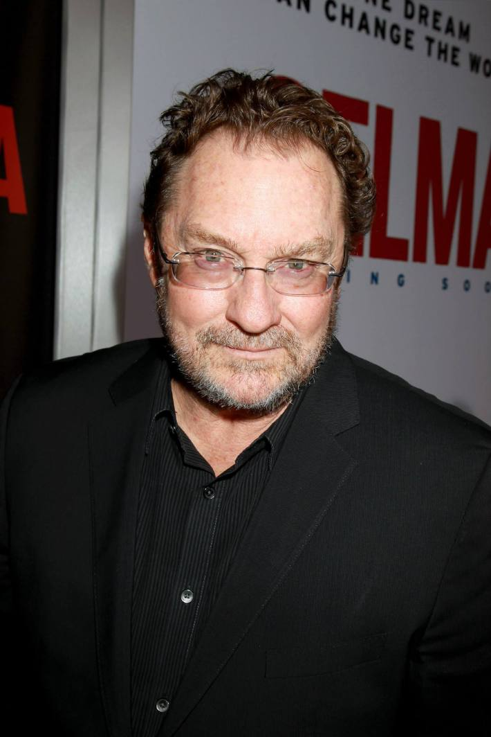 Actor Stephen Root attends the 'Selma' New York Premiere at the Ziegfeld Theater