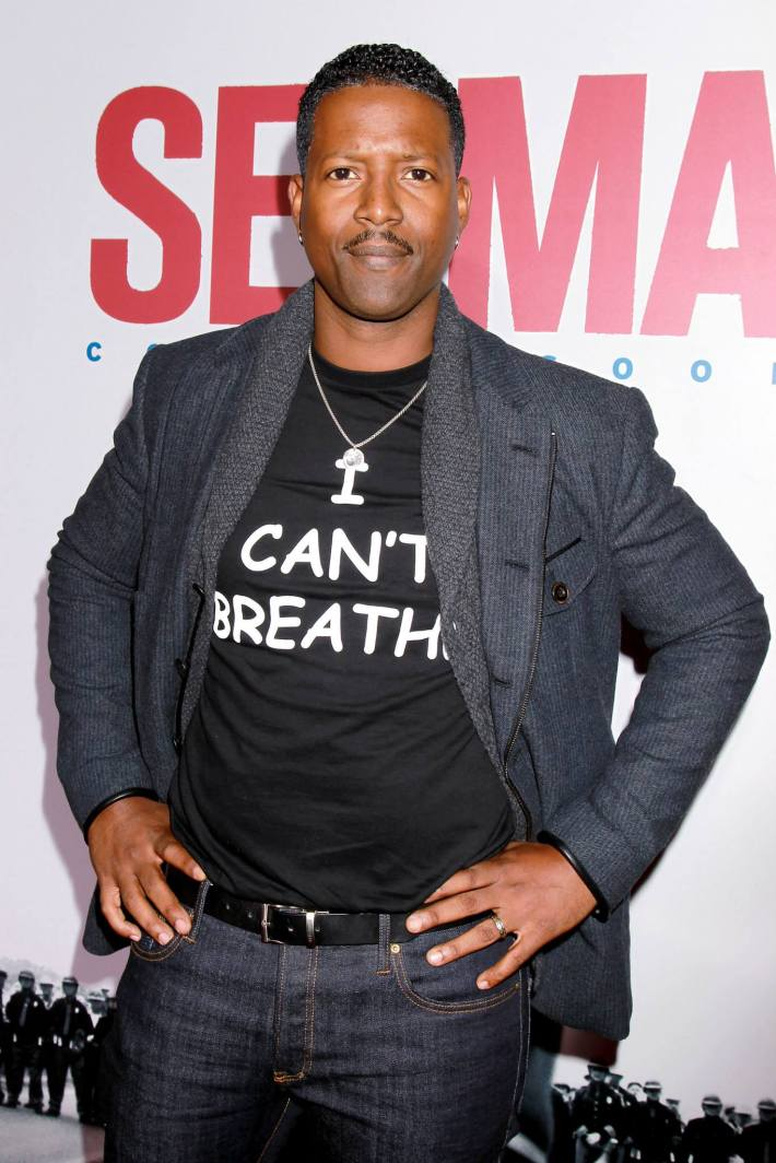 Actor Corey Reynolds attends the 'Selma' New York Premiere at the Ziegfeld Theater