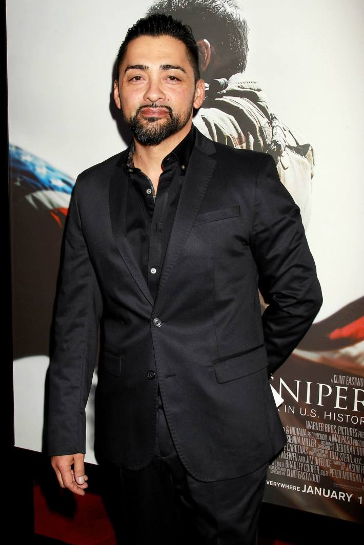 Rey Gallegos attends 'American Sniper' New York Premiere - Outside Arrivals at Frederick P. Rose Hall, Jazz at Lincoln Center