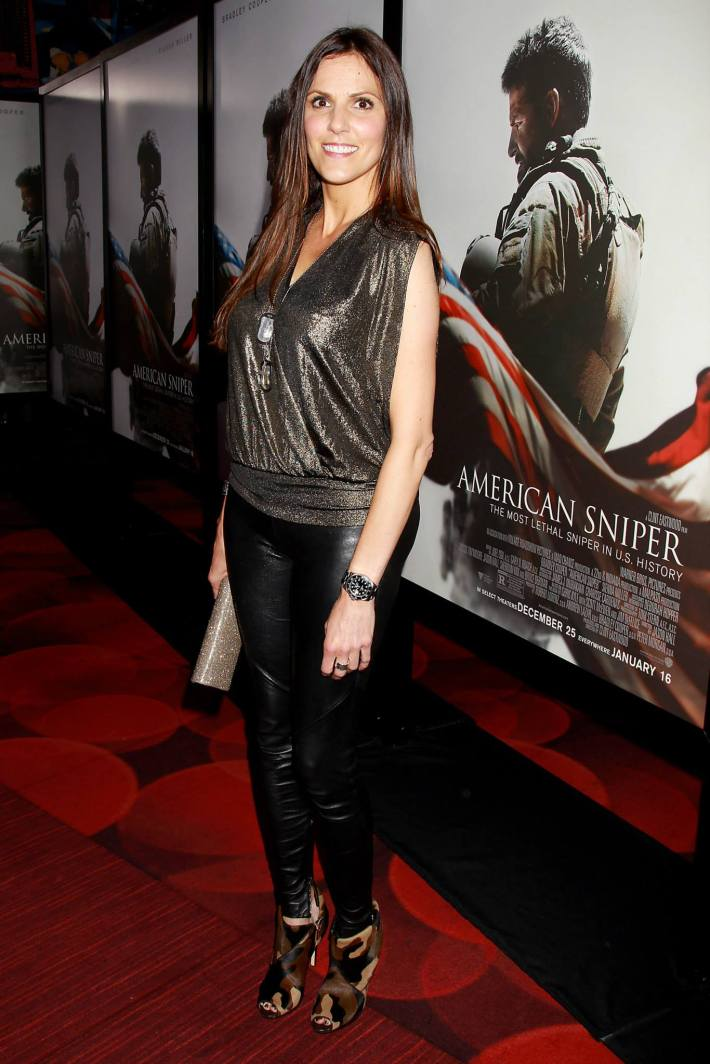 Taya Kyle attends 'American Sniper' New York Premiere at Frederick P. Rose Hall, Jazz at Lincoln Center