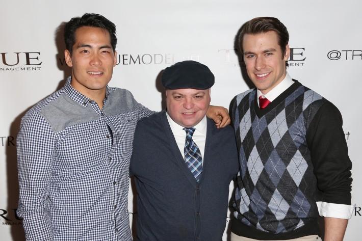 James Liao, Anthony Higgins, Gavin Eastlack attend Dale Noelle Presents True Model Management's Winter Warm Up (Photo by  J Grassi)