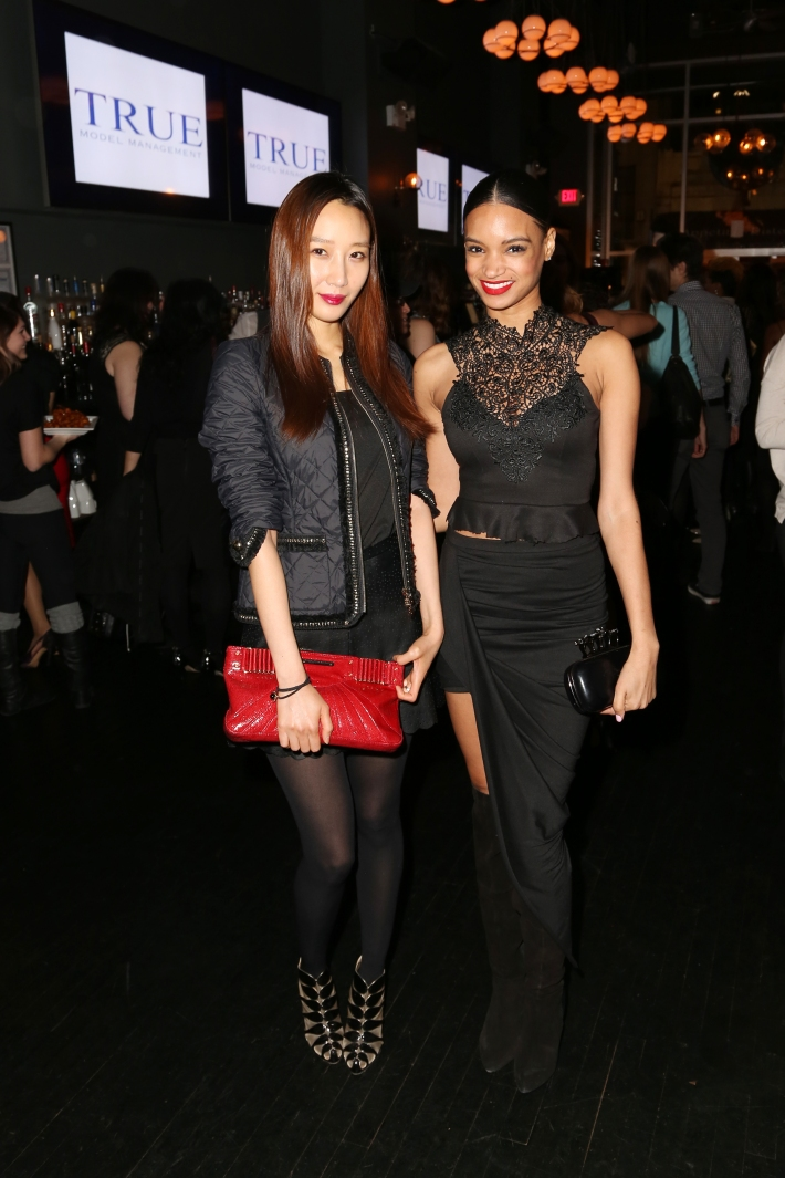 Lana Lee, Erica Marie attend Dale Noelle Presents True Model Management's Winter Warm Up (Photo by  J Grassi)
