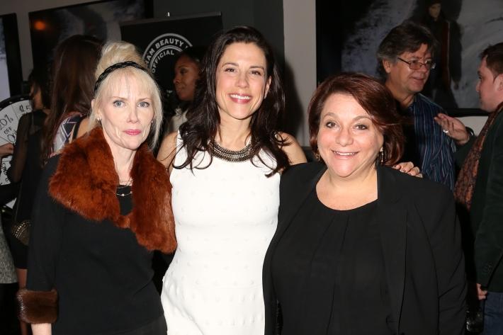 Lynn Shaw, Dale Noelle, Audrey Pass attend Dale Noelle Presents True Model Management's Winter Warm Up (Photo by  J Grassi)